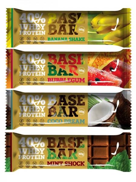 """Протеиновый батончик """"Base Bar"""" 40% белка, 60гр,"""