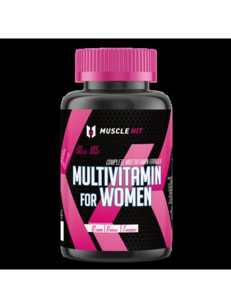 Muscle Hit Multivitamin for Women 90 tab