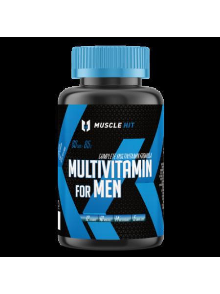 Muscle Hit Elite Multivitamin for Men 60 таб