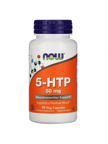 NOW 5-HTP 50 mg 90 vcaps