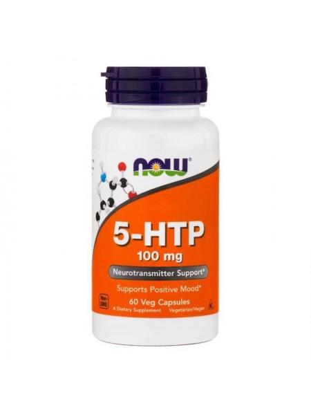 NOW 5-HTP 100 mg 60 капс