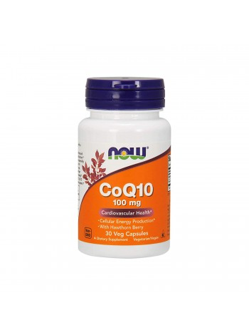 NOW CoQ10 100 мг 30 капс