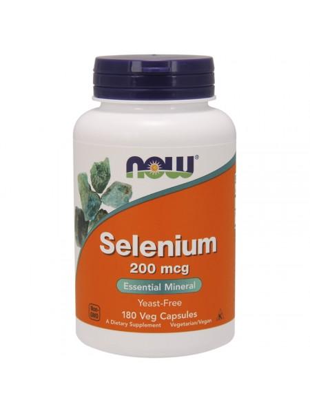 Now Selenium 200 мкг 180 капсул