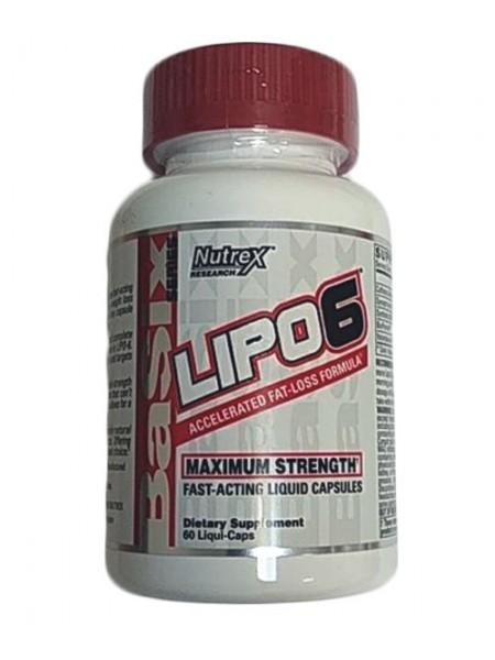 Nutrex Lipo-6 60c