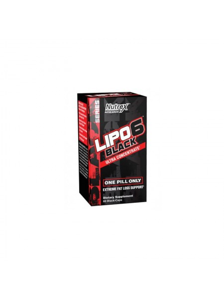 Nutrex Lipo-6 Black Ultra Concentrate 60c