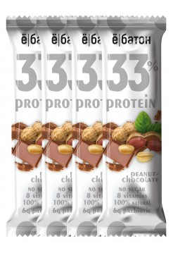 Ё|батон Батончик неглазированный 33% protein 45г