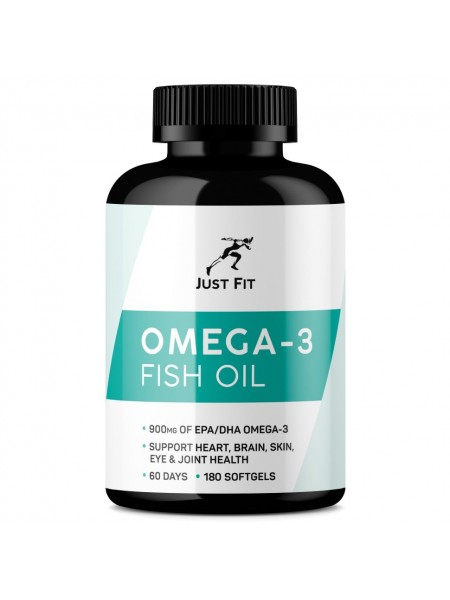 JUST FIT Omega 3 1000, 180кап