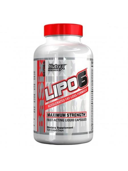 Nutrex Lipo-6 120c