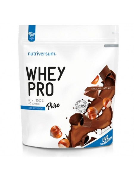 Nutriversum Pure PRO Whey Pro 2000гр