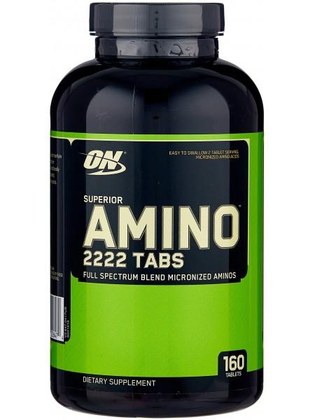 Optimum Nutrition Superior Amino 2222 160 tab