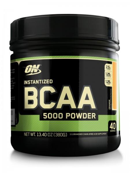Optimum Nutrition BCAA 5000 Powder 380g flavored