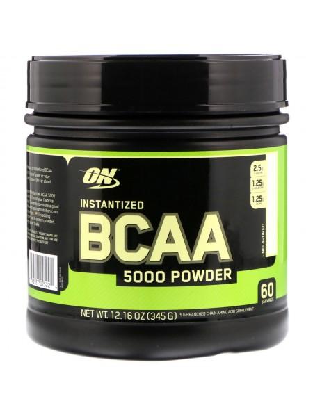 Optimum Nutrition BCAA 5000 Powder 336 г unflavored