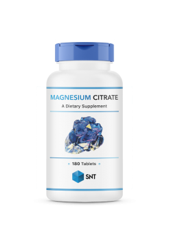 SNT magnesium citrate 180tabs