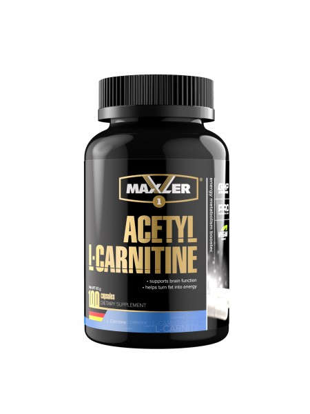 Maxler Acetyl L-Carnitine 100 капс