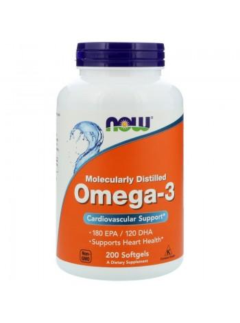 NOW Omega-3 1000mg 200c