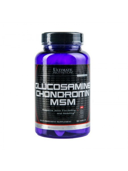 Ultimate Nutrition Glucosamine Chondroitin MSM 90 tab