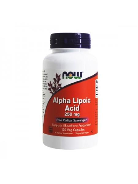 NOW Alpha Lipoic Acid 250 mg 60 вег капс