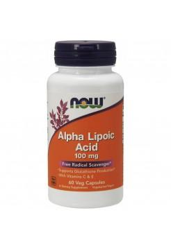 NOW Alpha Lipoic Acid 100 mg 60 вег капс