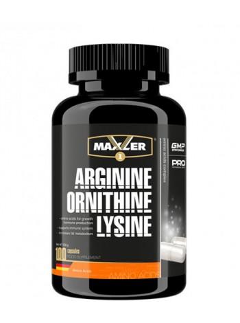Maxler Arginine Ornithine Lysine 100c