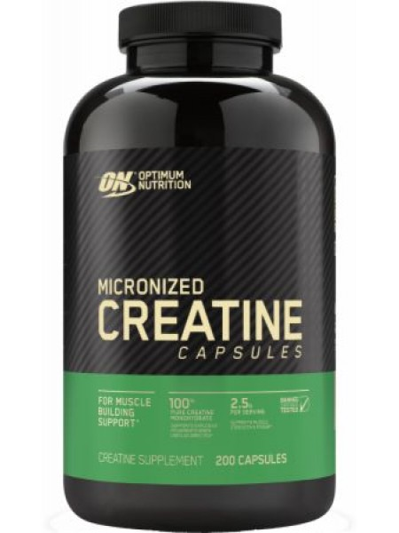 Optimum Nutrition Creatine 2500mg 200cap