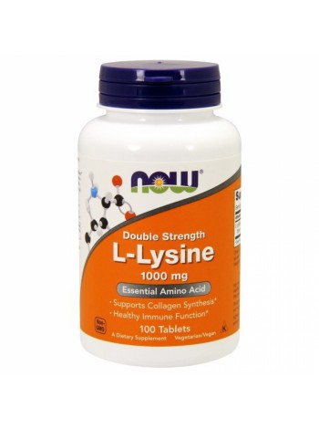 NOW L-Lysine 1000 mg 100t