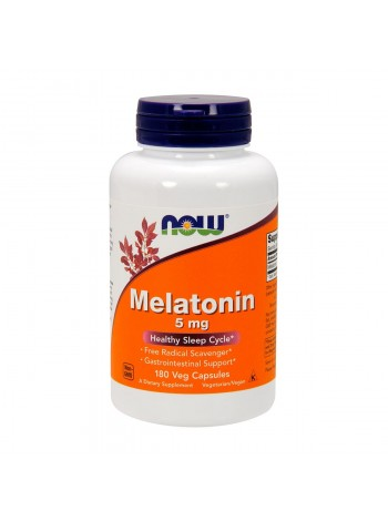 NOW Melatonin 5 мг  180капс