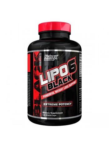 Nutrex Lipo-6 Black Extreme Potency 120 caps