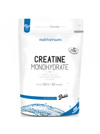 Nutriversum Pure PRO 100% Creatine Monohydrate 500гр