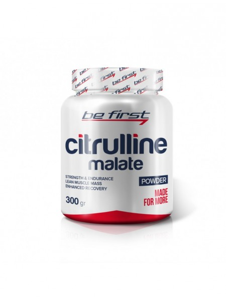 Be First CITRULLINE MALATE POWDER (300Г)