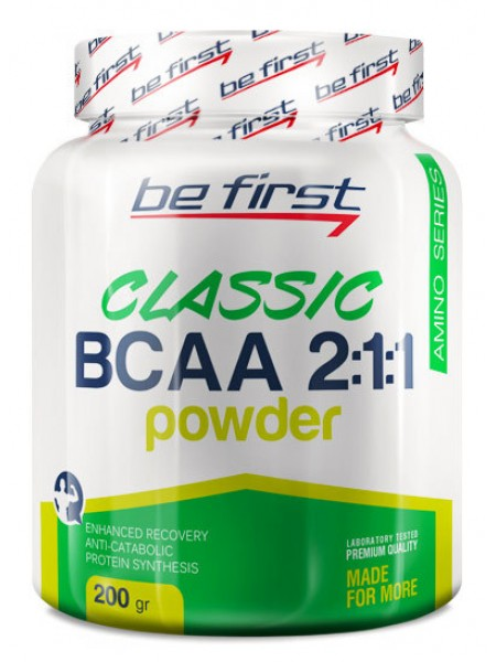 Be First BCAA 2:1:1 CLASSIC POWDER (200Г)