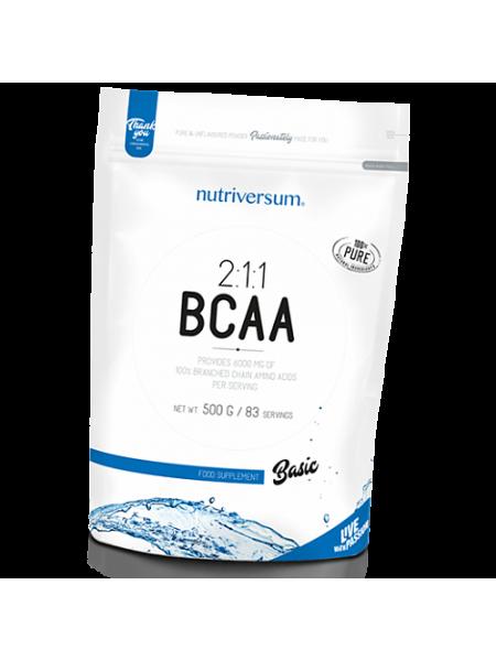 Nutriversum Pure PRO BCAA 500гр (без вкуса)