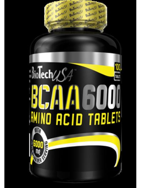BioTechUSA BCAA 6000 100tabs