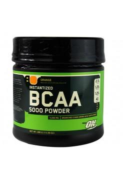 Optimum Nutrition BCAA 5000 Powder - 380 г., фруктовая смесь (апельсин)