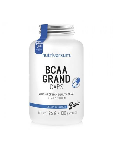 Nutriversum Basic BCAA Grand Caps 100 капс