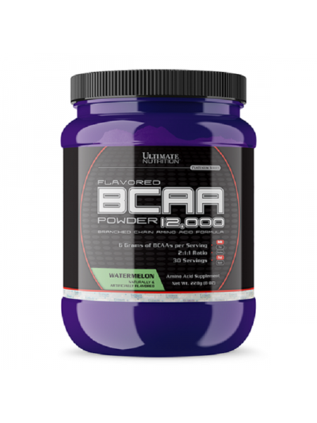 ULTIMATE BCAA 12000 POWDER FLAVORED 228G