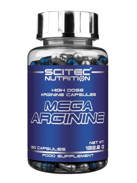 Scitec Nutrition Mega Arginine 90 капс