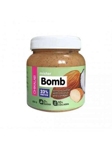 Chikalab Mister Bomb Миндальная паста с кокосом 250g