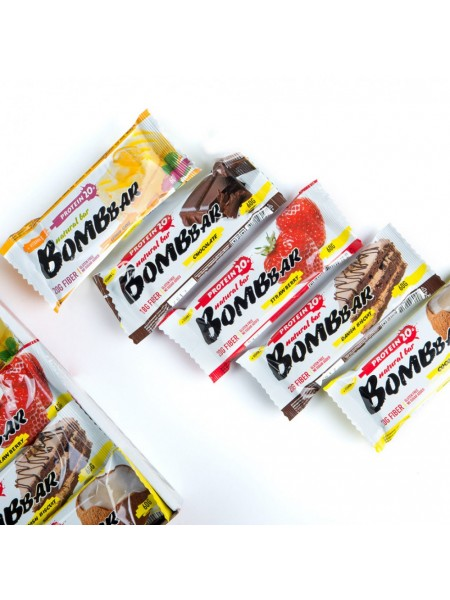 BombBar Natural bar + Vitamin C 60гр