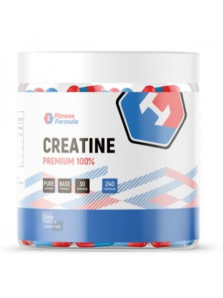 FITNESS FORMULA Creatine 100% Premium, 240 кап