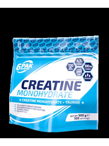 6PAK Nutrition Creatine Monohydrate 500g