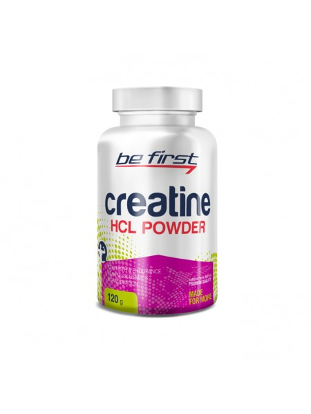 Be First Creatine HCL 120 caps