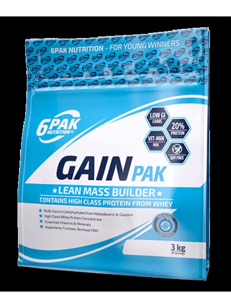 6PAK Nutrition Gain Pak 3000гр