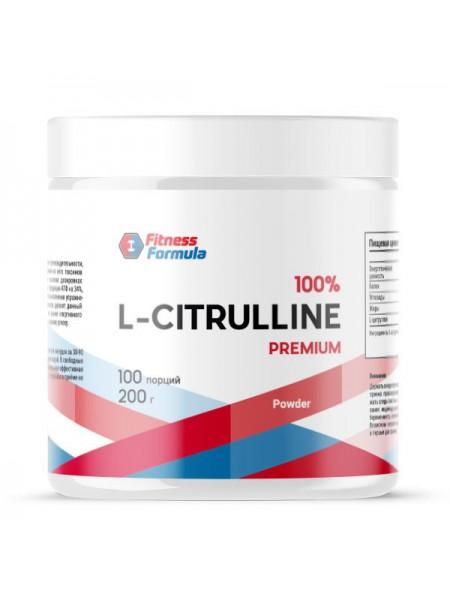 Fitness Formula Citrulline 200 гр