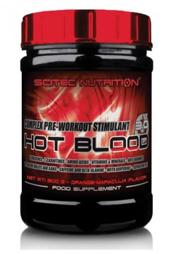 Scitec Nutrition Hot Blood 3.0  300 г