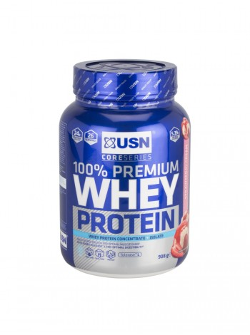 USN Whey Protein 100% Premium, 0.9 кг