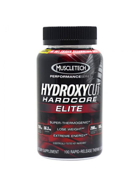 Muscletech Hydroxycut Hardcore Elite 100cap