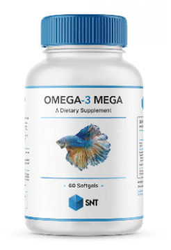 SNT Omega 3 Mega 330/220 softgel 60 капс
