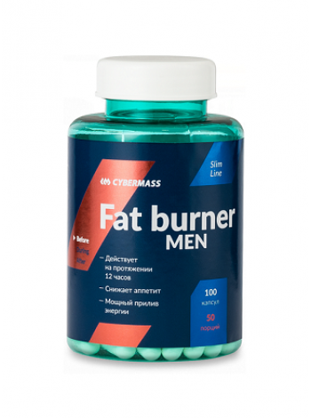 Cybermass Fat Burner men 100 капс.
