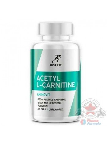 JUST FIT Acetyl L-Carnitine 75 капс