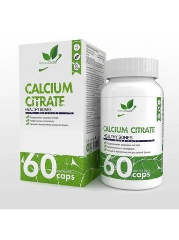 Natural Supp Calcium Citrate 60 капс